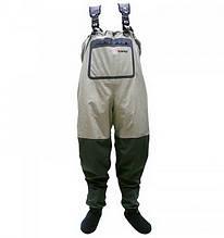 Забродние штани-вейдерсы Tramp Angler TRFB-004 (р. S), оливкові