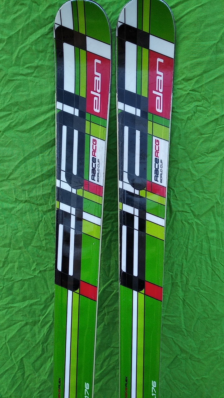 Гірські лижі бу Elan Race rcg world cup 175 см слалом-гігант