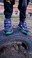 Демисезонные ботинки на мальчика размеры 30-19.5см; 32-20.5см