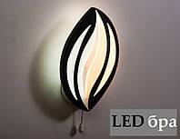 Світлодіодний світильник бра настінний 10W 18092/1 LED зі зміною світіння, фото 1
