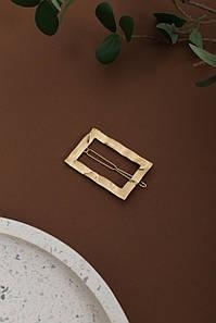 Шпилька FAMO Анета золота Довжина 6(см)/ Ширина 4(см) (2010-3) #L/A