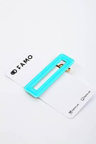 Шпилька FAMO Бріана блакитна 6.7 Довжина(см)/ Ширина 2.2(см) #L/A