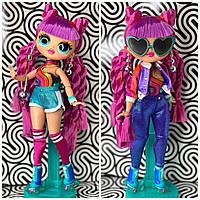 Кукла L.O.L. LOL Surprise OMG Лол на роликах ОМГ Диско-Скейтер Roller Chick Doll оригинал 567196