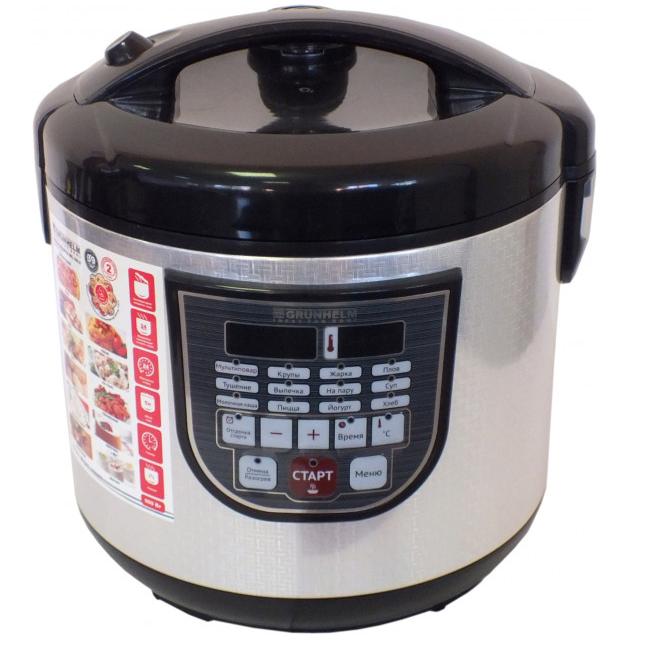Мультиварка Grunhelm MC - 39 LS (объём 5 л, 28 программ приготовления пищи, 2 года гарантии)
