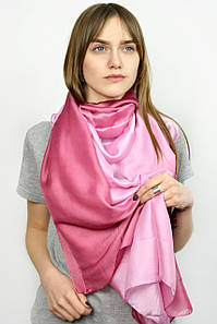 Шарф FAMO Палантин Азалия розовый (SSL-1803) 180*100 (SSL-1803*) #L/A