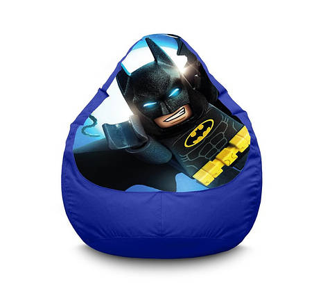 """Кресло мешок """"Lego Batman"""" Оксфорд, фото 2"""