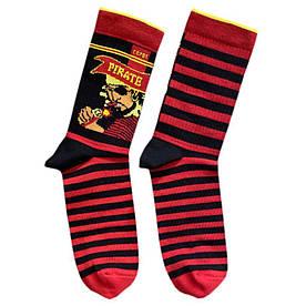 """Носки из высококачественного хлопка с оригинальным принтом """"Pirate"""""""