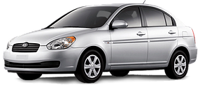 Подкрылки для Hyundai (Хюндай) Accent/Verna 3 2006-2010