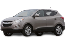 Подкрылки для Hyundai (Хюндай) ix35/ Tucson 2 2010-2015