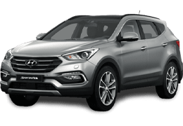 Подкрылки для Hyundai (Хюндай) Santa Fe 2 2006-2012