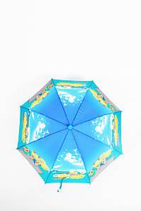 Детский зонт FAMO Зонт детский Клипси синий+голубой 100*49*68 (TK-2) #L/A