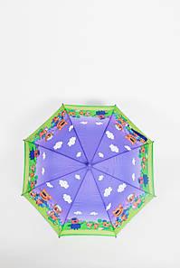Дитячий парасольку FAMO Парасолька дитячий Клипси фіолетовий 100*49*68 (TK-2) #L/A