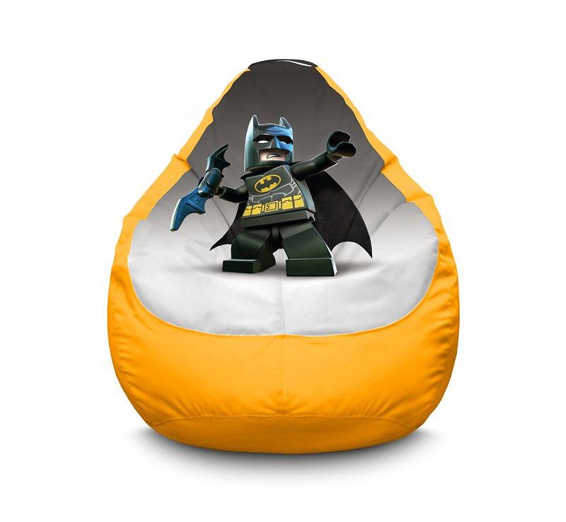 """Кресло мешок """"Lego Batman and batrang"""" Оксфорд"""