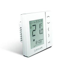 Зональный терморегулятор суточный Salus VS35W проводной, 230В, скрытого монтажа (белый)