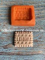Силиконовая форма для создания печенья мини, 2,1смх2,5 см. 1 шт.
