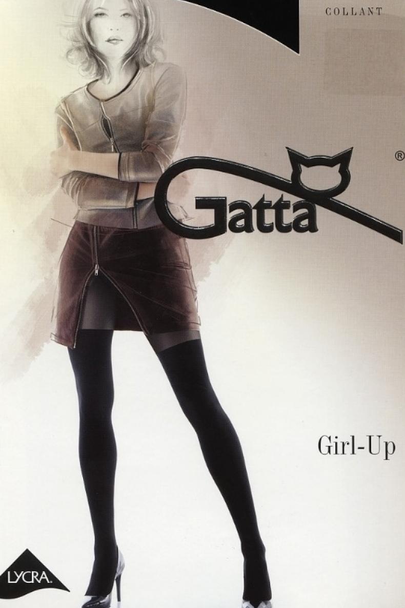 Колготки Gatta Gatta Collant Girl-Up 25 40 den nero 2 2 #L/A