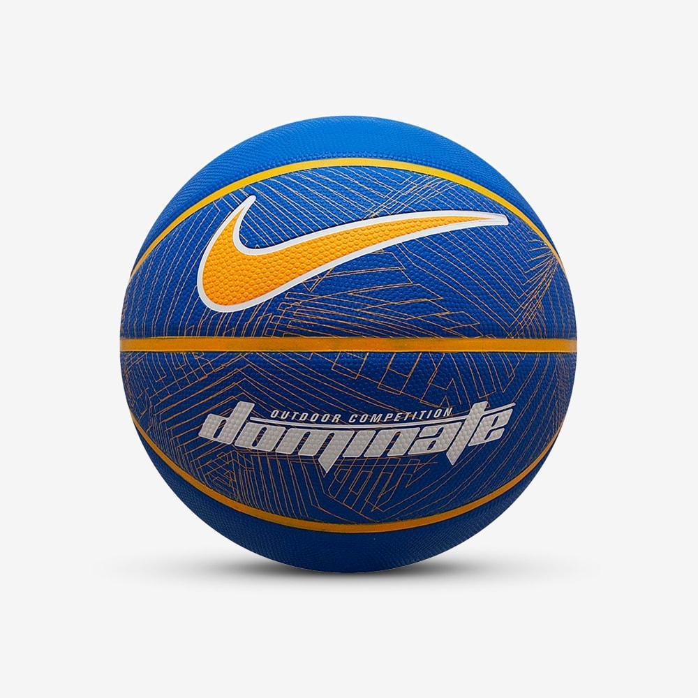 Мяч баскетбольный Nike Dominate GAME ROYAL/UNIVERSITY GOLD/WHITE/UNIVERSITY GOLD 07 (N.000.1165.437.07)