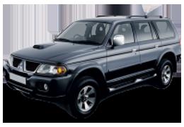 Подкрылки для Mitsubishi (Мицубиси) Pajero Sport 1 1996-2008