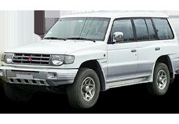 Подкрылки для Mitsubishi (Мицубиси) Pajero 2 (V20)/Wagon1 91+
