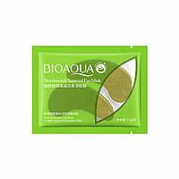 Одноразові гідрогелеві патчі для очей з екстрактом водорослів Bioaqua Nicotinamide Seaweed Eye Mask, фото 1