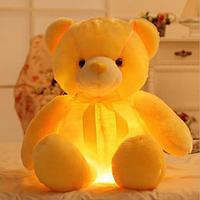 Светящийся Желтый Медвежонок 50 см