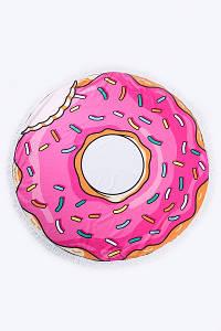 Килимки FAMO Пляжний килимок Детройді рожевий 150*150 #L/A
