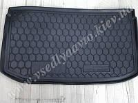 Коврик в багажник NISSAN Micra с 2013 г. (Автогум AVTO-GUMM) полиуретан