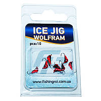Мормышка вольфрамовая муравей Fishing ROI Ice Jig 0.3 г., 3 мм.