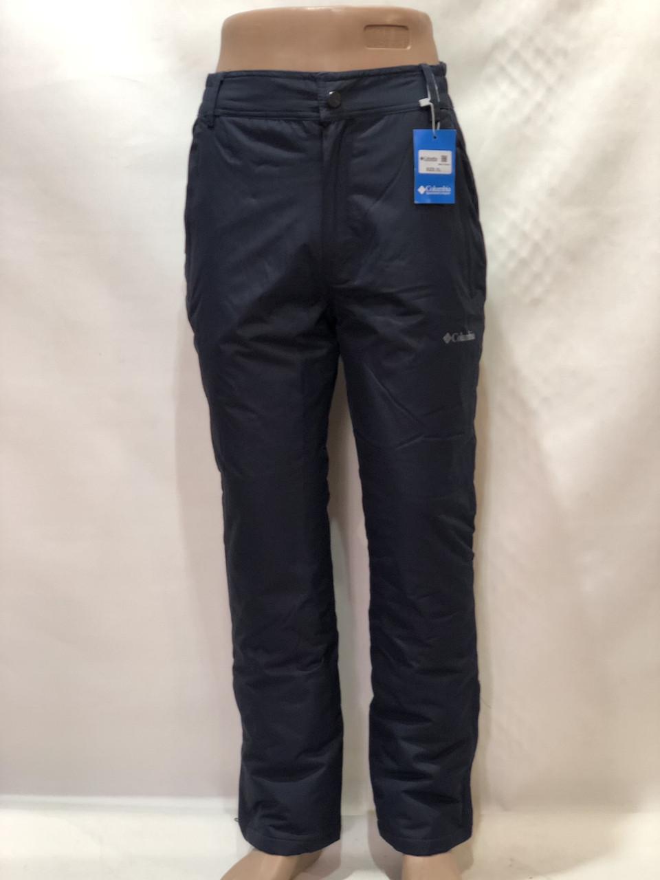 Мужские теплые горнолыжные,   штаны  Темно-синие