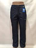 Мужские теплые горнолыжные,   штаны  Темно-синие, фото 7