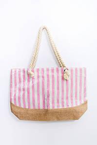 Пляжная сумка FAMO Сумка пляжная Гледа розовая 46*41*13 (SYM-2061) #L/A