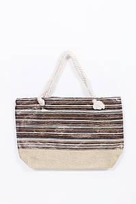 Пляжная сумка FAMO Сумка пляжная Джоселин коричневая 52*37*11 (SYM-2024) #L/A