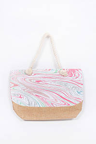 Пляжная сумка FAMO Сумка пляжная Доротея розовая 51*37*14 (SYM-2050) #L/A