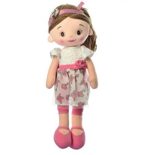 Лялька дитяча красива м'яконабивна 35 см.