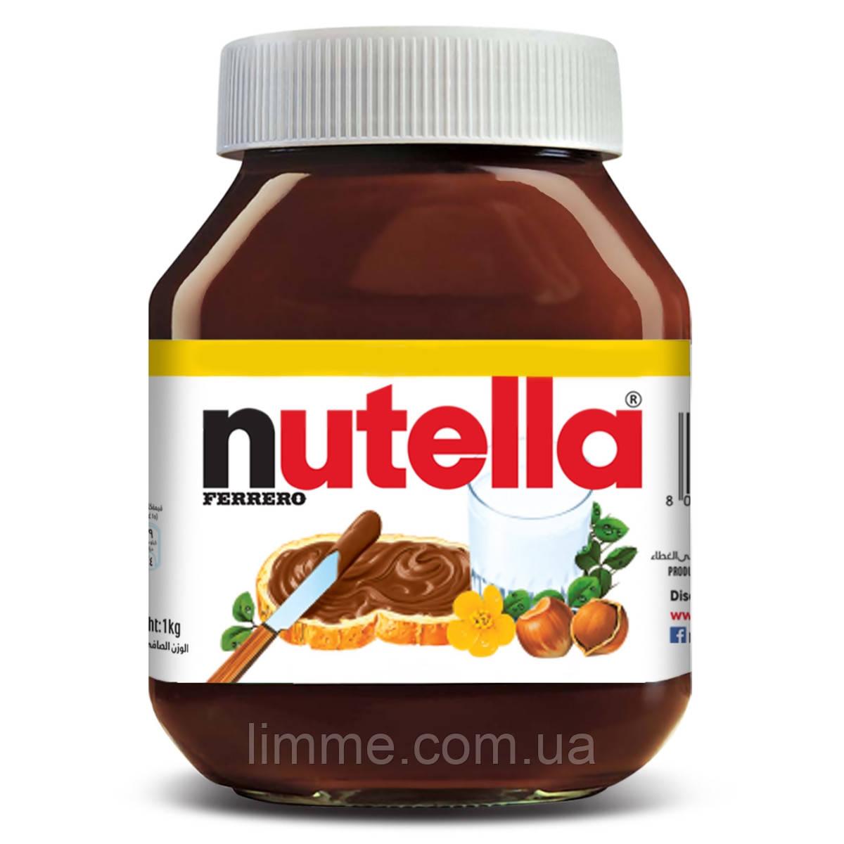 Шоколадно - ореховая паста Nutella 700 г.