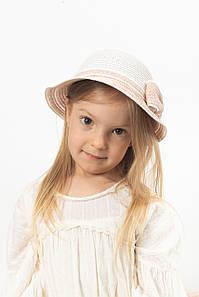 Дитячий капелюх FAMO Капелюх дитяча Кимби капучиновая 48 (SHLD-2006) #L/A