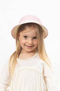 Дитячий капелюх FAMO Капелюх дитяча Кимби пудрова 48 (SHLD-2006) #L/A