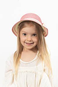 Дитячий капелюх FAMO Капелюх дитяча Кимби рожева 48 (SHLD-2006) #L/A