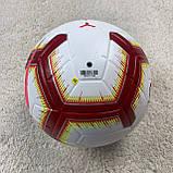 Мяч Ла Лига бело-оранжевый №5, фото 2