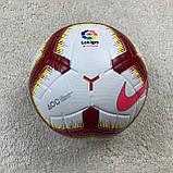 Мяч Ла Лига бело-оранжевый №5, фото 3