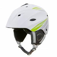 Горнолыжный шлем для сноуборда взрослый MOON С механизмом регулировки Белый (MS-6287) М