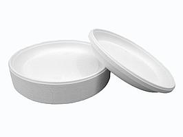 Тарелка одноразовая пластиковая диаметр165мм.