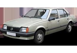 Дефлекторы на боковые стекла (Ветровики) для Opel (Опель) Ascona 1981-1988