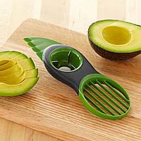Нож сплиттер для экзотических фруктов 3 в 1 для Авокадо и Манго