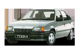Дефлекторы на боковые стекла (Ветровики) для Opel (Опель) Kadett E 1984-1991
