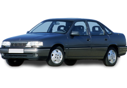 Дефлекторы на боковые стекла (Ветровики) для Opel (Опель) Vectra A 1988-1995