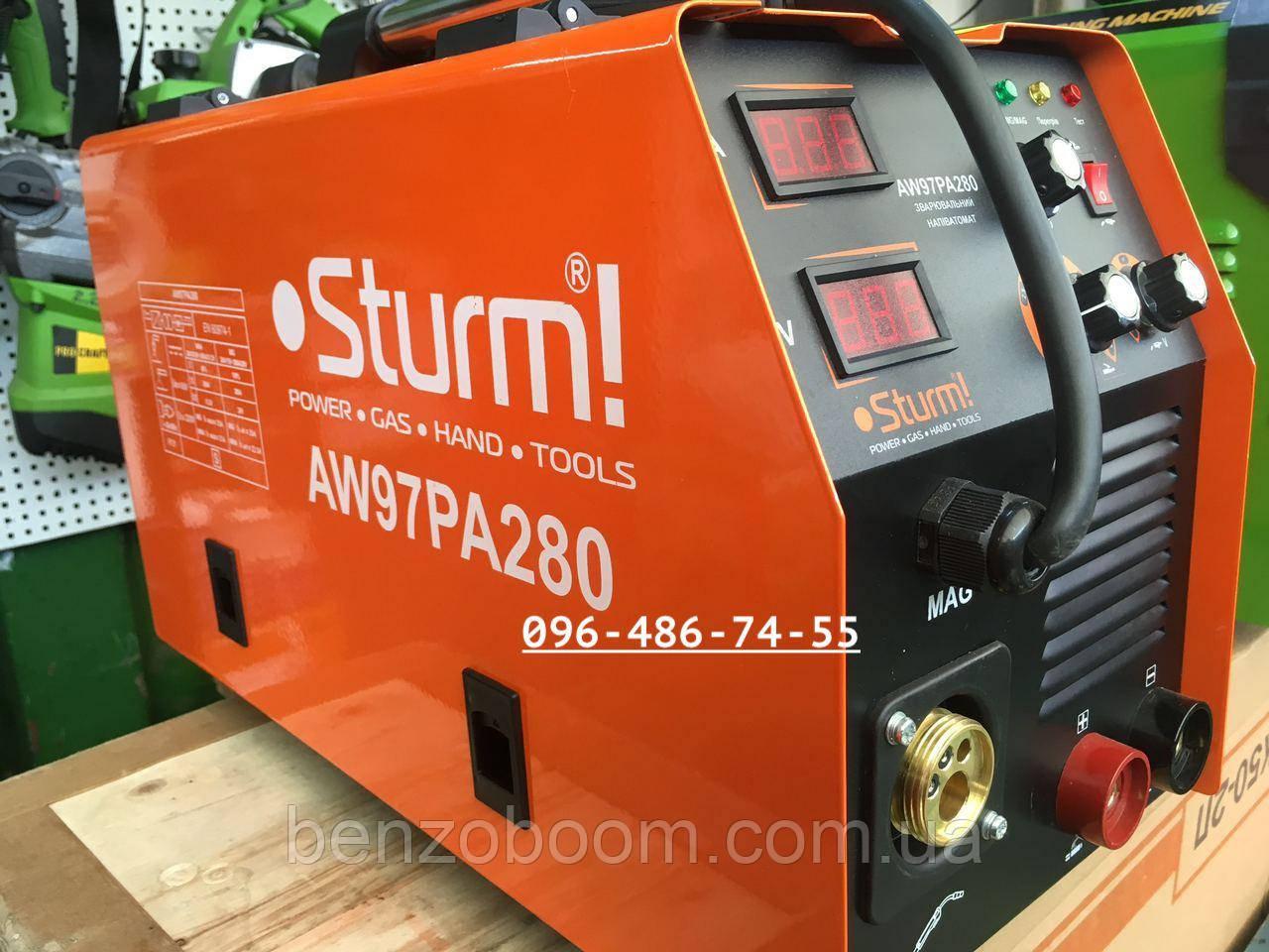 Сварочный полуавтомат Sturm AW97PA280P MIG/MMA