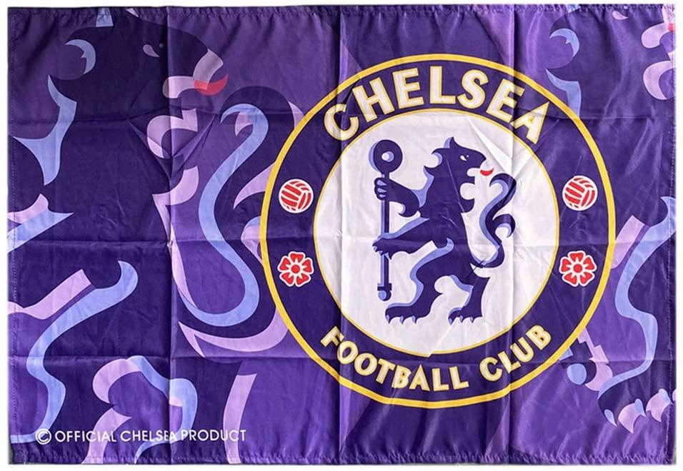 Флаг баннер футбольного клуба Chelsea FC