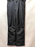 Ххл р. Чоловічі штани теплі гірськолижні останні залишилися з підтяжками сірі, фото 8
