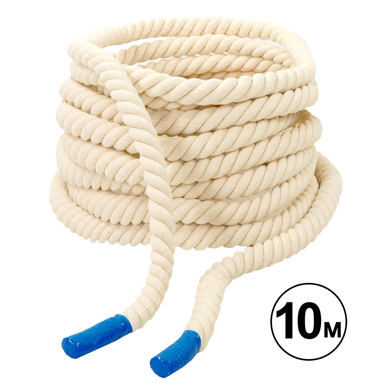 Канат для кроссфита COMBAT BATTLE ROPE (10м) d-2,6см R-4052